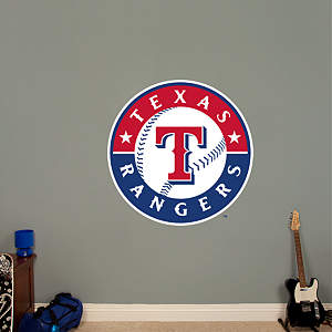 Texas Rangers Logo Fathead Wall Decal